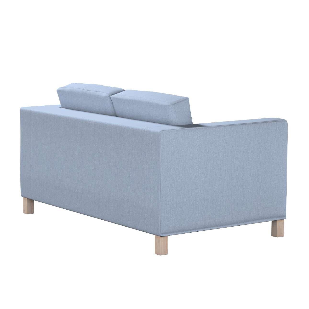 Pokrowiec na sofę Karlanda 2-osobową nierozkładaną, krótki w kolekcji Chenille, tkanina: 702-13