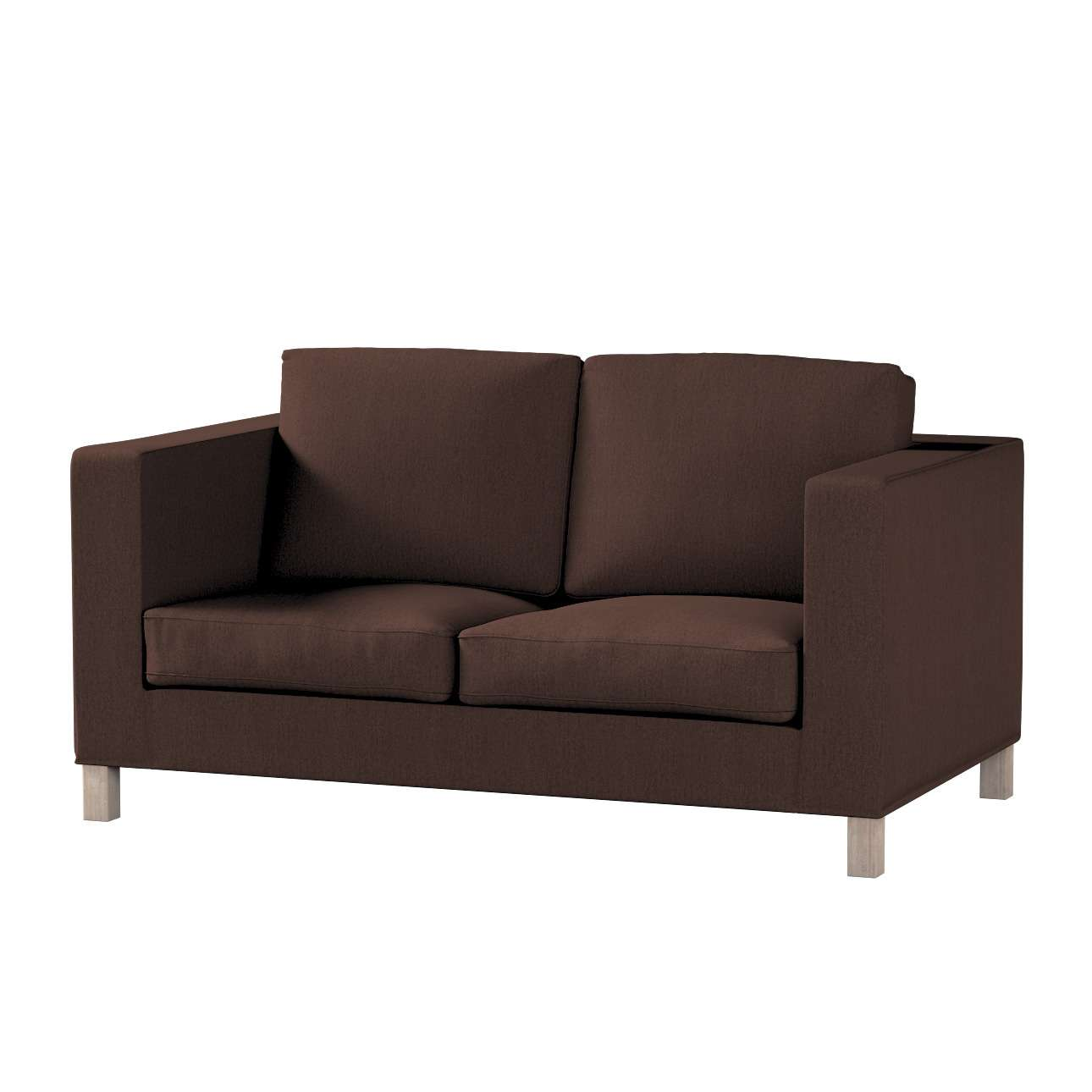 Bezug für Karlanda 2-Sitzer Sofa nicht ausklappbar, kurz von der Kollektion Chenille , Stoff: 702-18