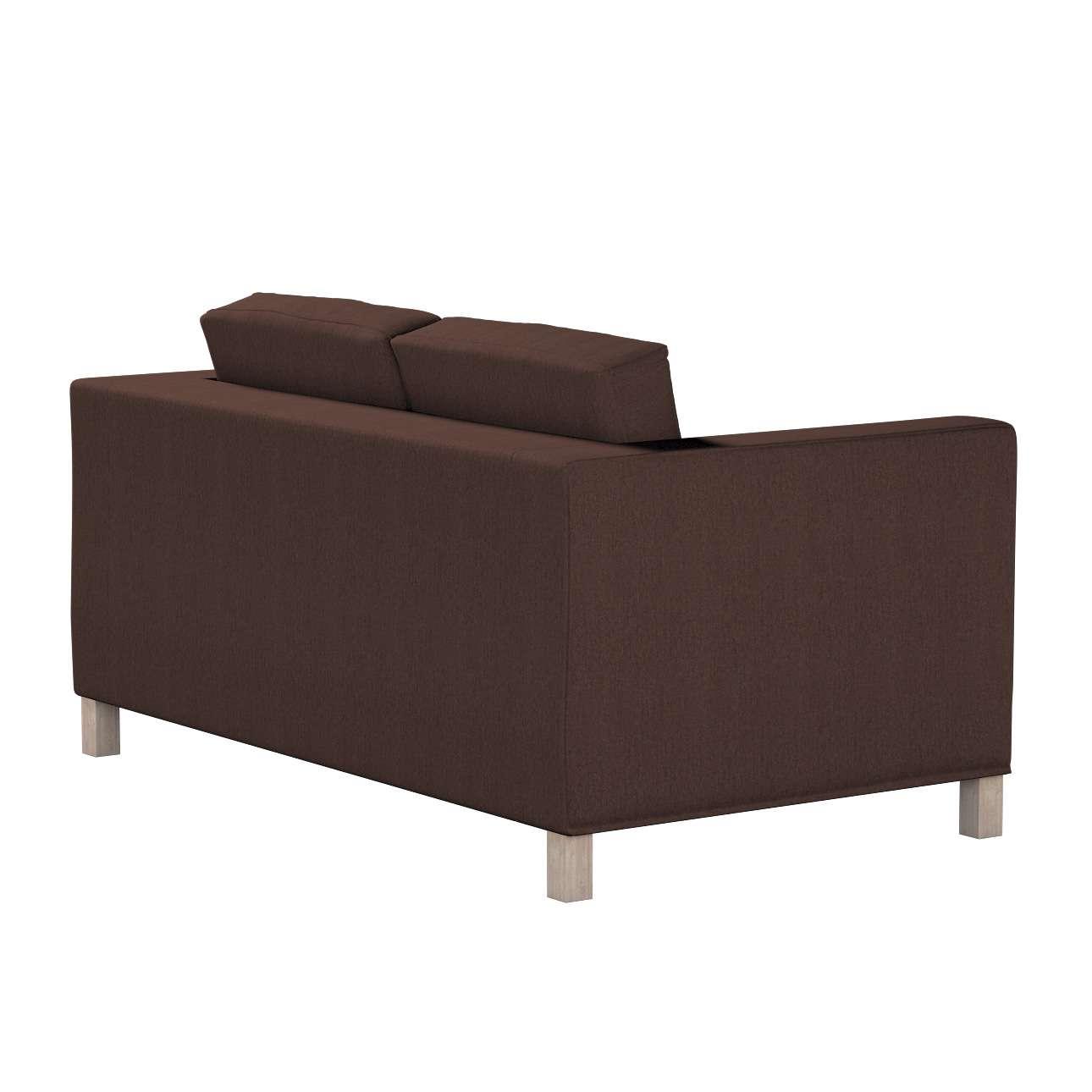Pokrowiec na sofę Karlanda 2-osobową nierozkładaną, krótki w kolekcji Chenille, tkanina: 702-18