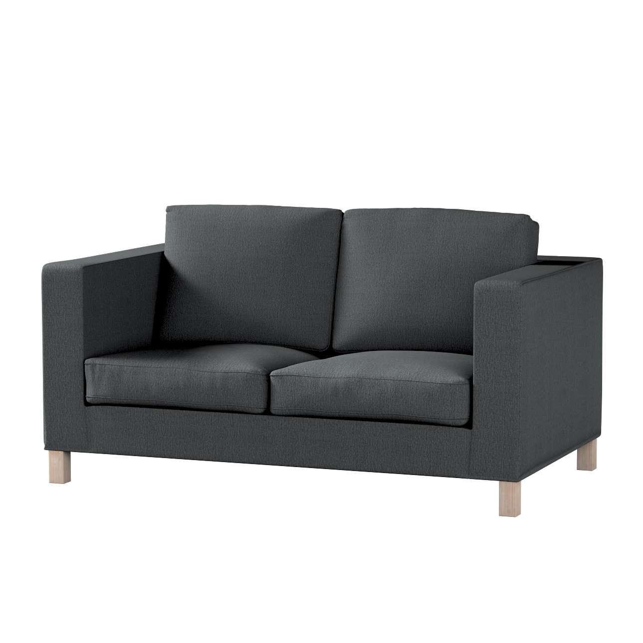 Pokrowiec na sofę Karlanda 2-osobową nierozkładaną, krótki Sofa Karlanda 2-os w kolekcji Chenille, tkanina: 702-20
