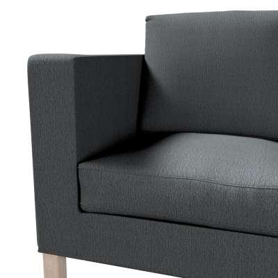Pokrowiec na sofę Karlanda 2-osobową nierozkładaną, krótki w kolekcji Chenille, tkanina: 702-20
