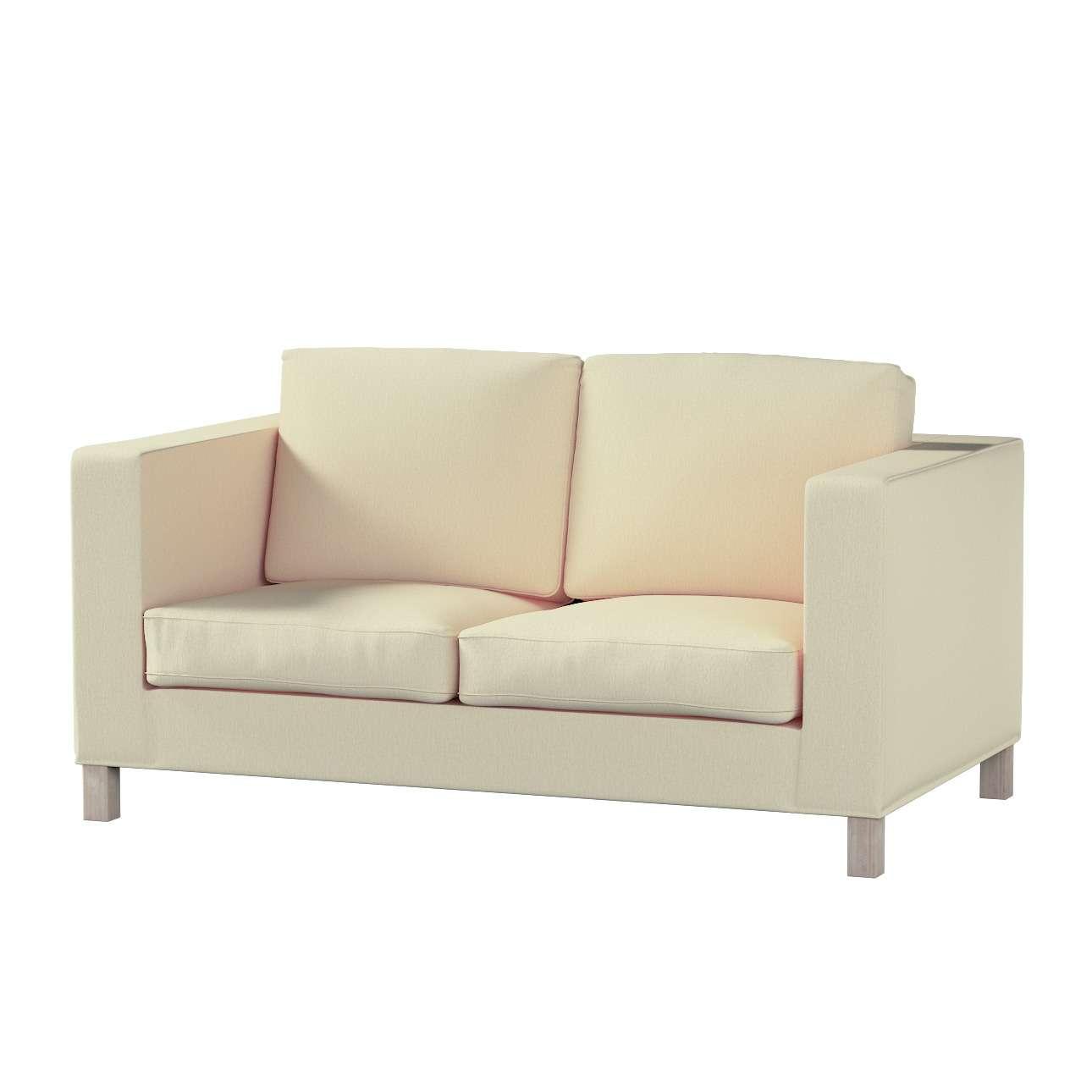 Pokrowiec na sofę Karlanda 2-osobową nierozkładaną, krótki Sofa Karlanda 2-os w kolekcji Chenille, tkanina: 702-22