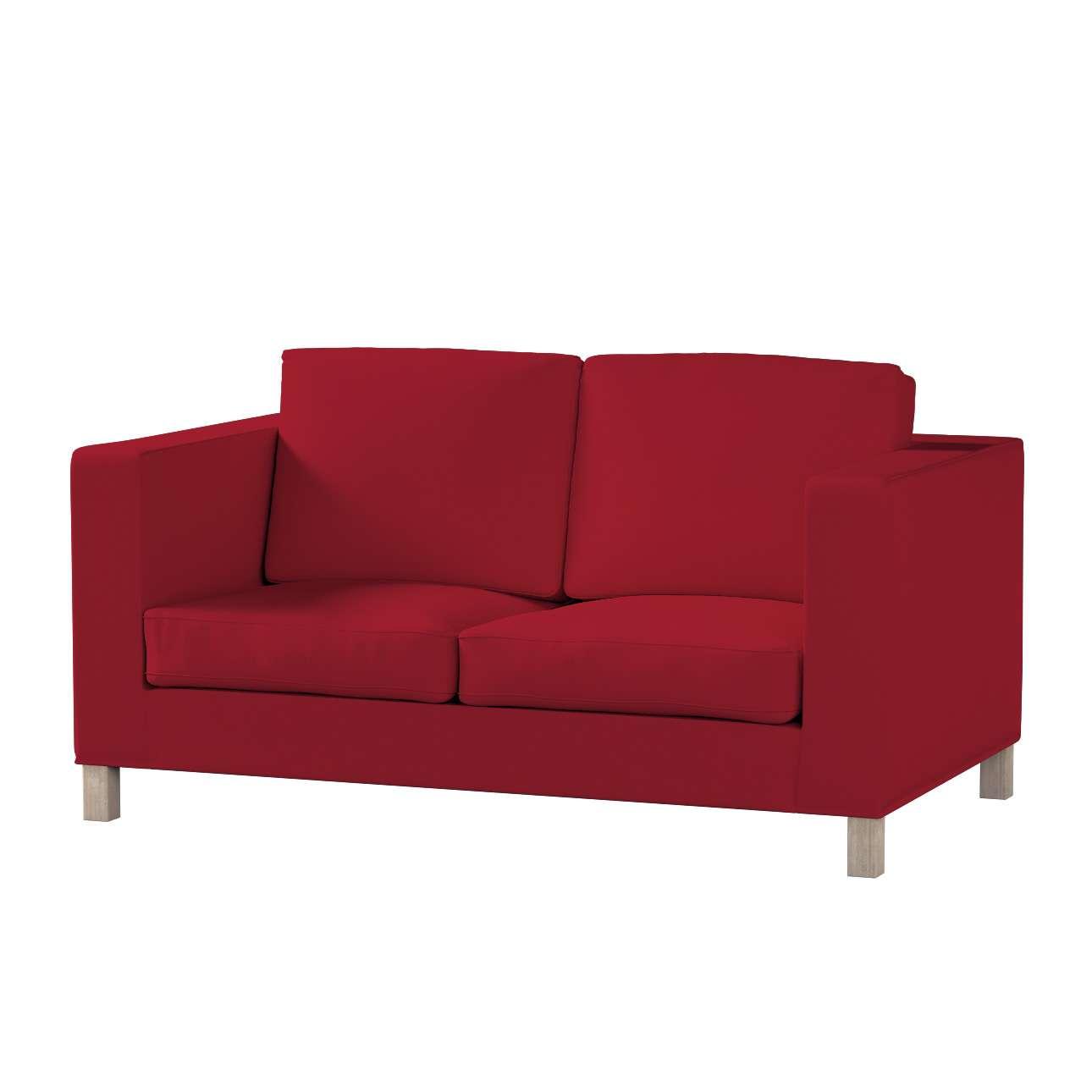 Pokrowiec na sofę Karlanda 2-osobową nierozkładaną, krótki Sofa Karlanda 2-os w kolekcji Chenille, tkanina: 702-24
