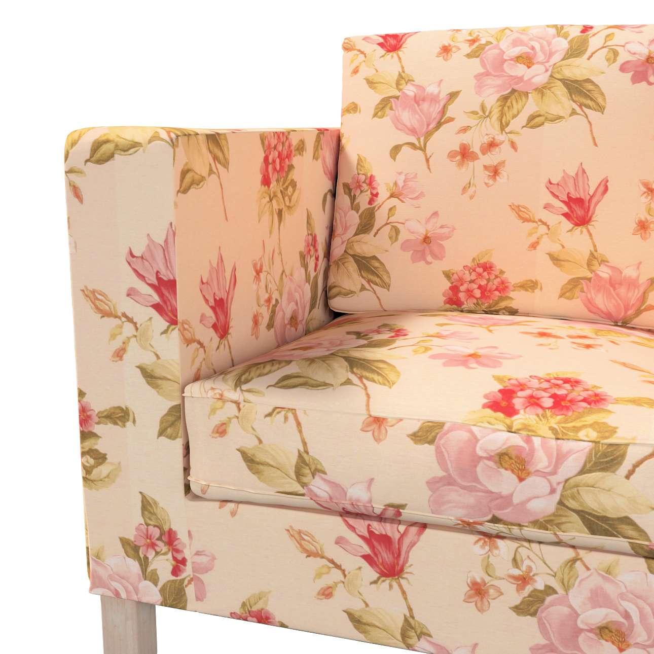 Pokrowiec na sofę Karlanda 2-osobową nierozkładaną, krótki w kolekcji Londres, tkanina: 123-05