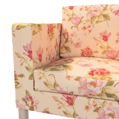 Bezug für Karlanda 2-Sitzer Sofa nicht ausklappbar, kurz von der Kollektion Londres, Stoff: 123-05