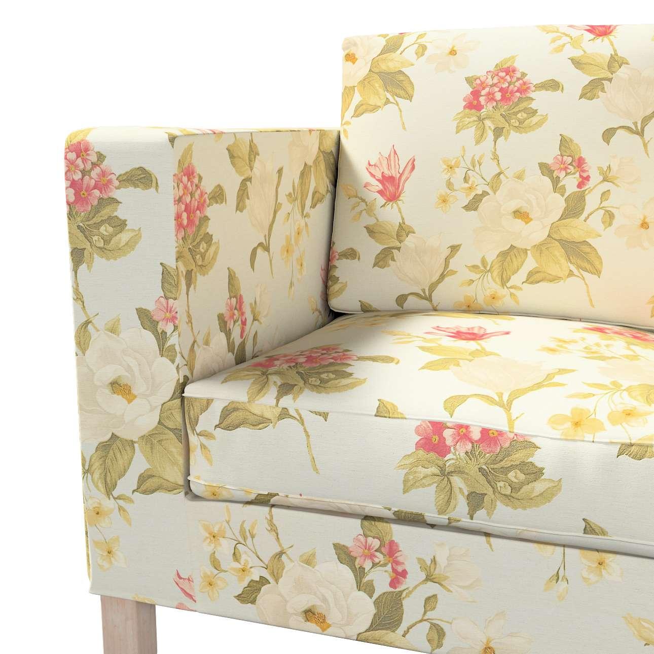Huzat Karlanda 2-üléses kanapéra, nem kinyitható, rövid a kollekcióból Londres Bútorszövet, Dekoranyag: 123-65