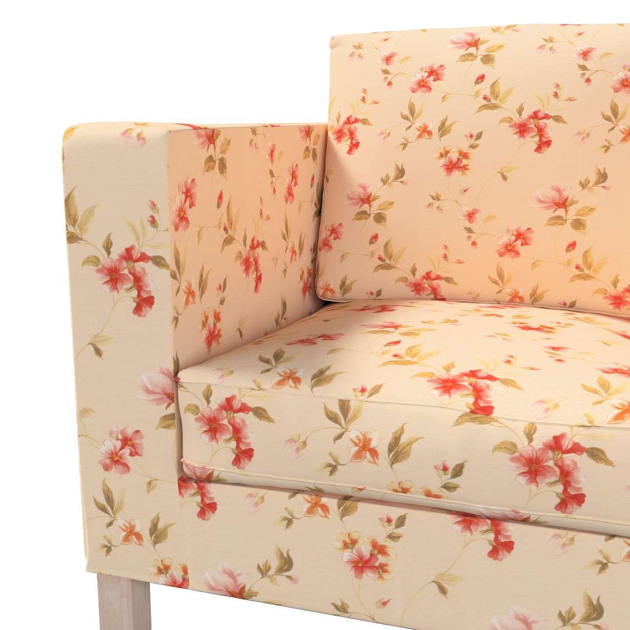 Pokrowiec na sofę Karlanda 2-osobową nierozkładaną, krótki w kolekcji Londres, tkanina: 124-05