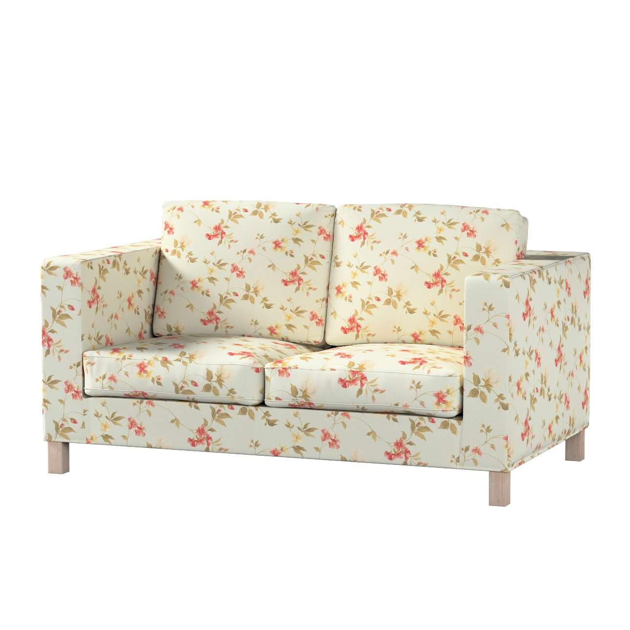 Pokrowiec na sofę Karlanda 2-osobową nierozkładaną, krótki w kolekcji Londres, tkanina: 124-65