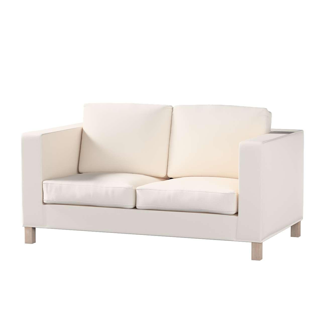 Pokrowiec na sofę Karlanda 2-osobową nierozkładaną, krótki w kolekcji Etna , tkanina: 705-01