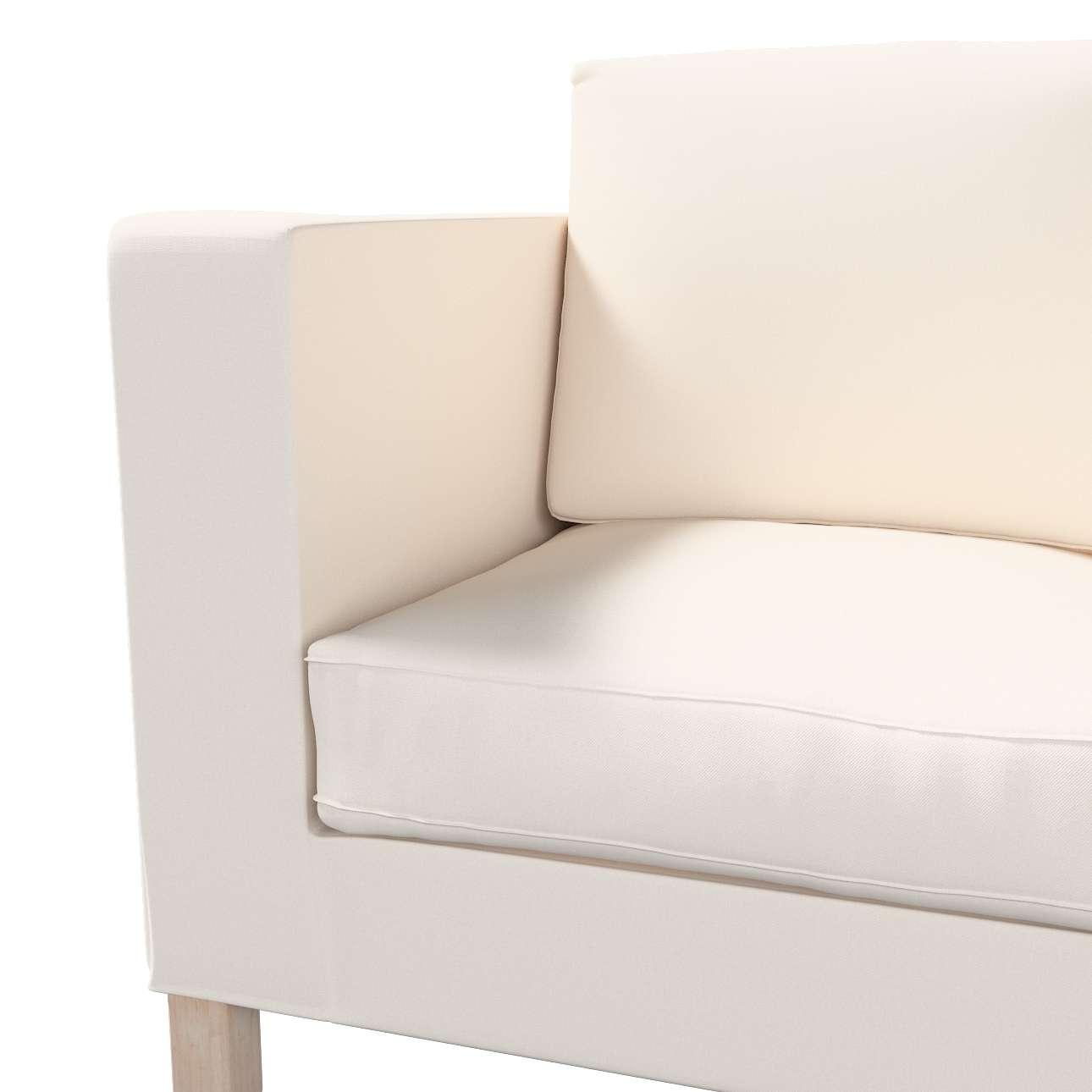 Pokrowiec na sofę Karlanda 2-osobową nierozkładaną, krótki w kolekcji Etna, tkanina: 705-01