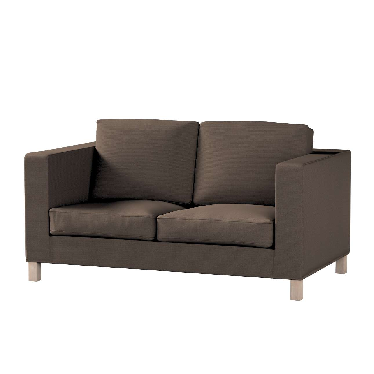 Pokrowiec na sofę Karlanda 2-osobową nierozkładaną, krótki w kolekcji Etna , tkanina: 705-08
