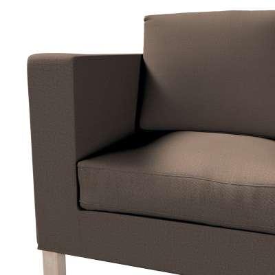 Bezug für Karlanda 2-Sitzer Sofa nicht ausklappbar, kurz von der Kollektion Etna, Stoff: 705-08