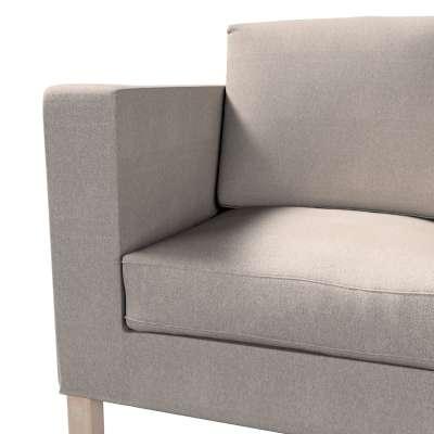 Pokrowiec na sofę Karlanda 2-osobową nierozkładaną, krótki w kolekcji Etna, tkanina: 705-09