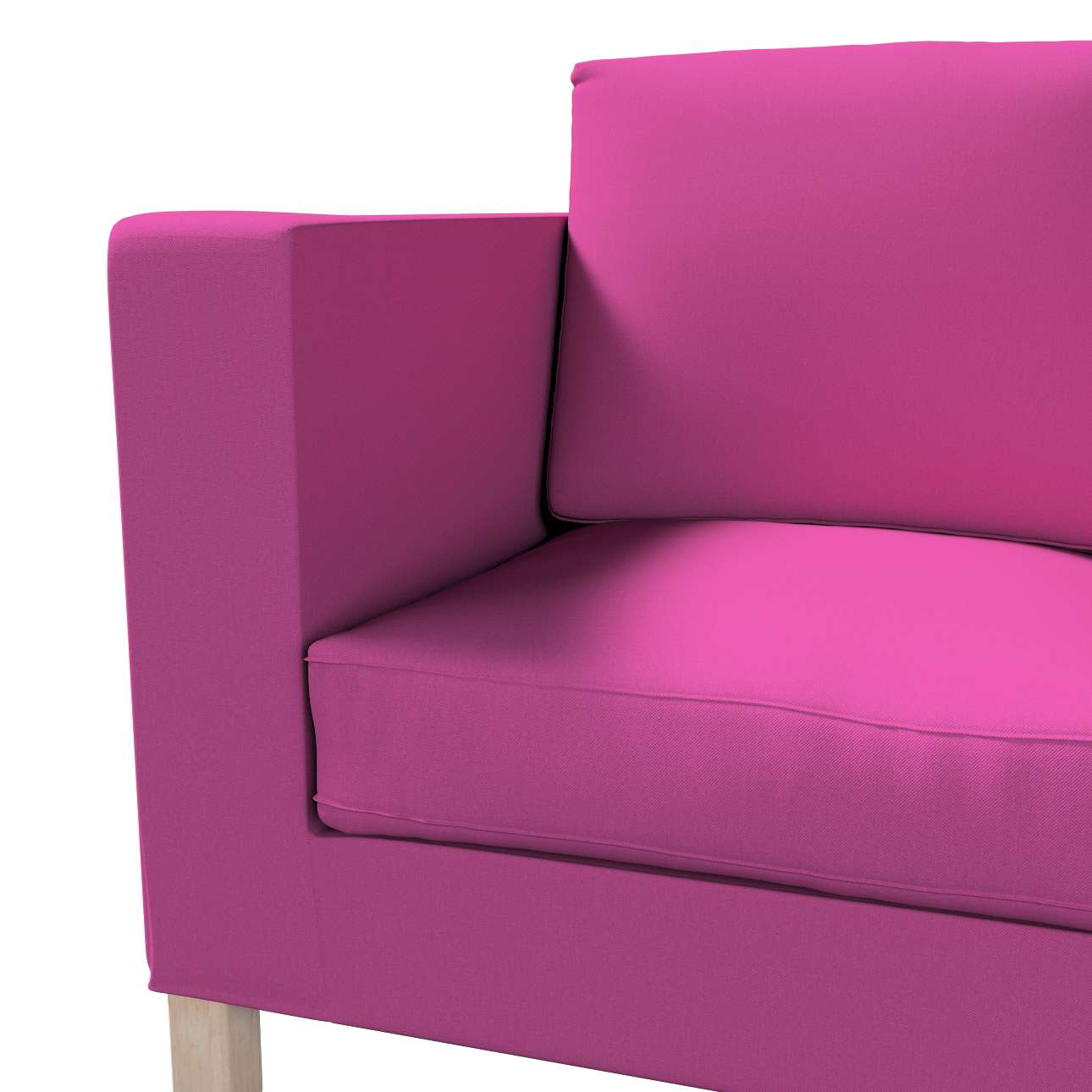 Bezug für Karlanda 2-Sitzer Sofa nicht ausklappbar, kurz von der Kollektion Etna, Stoff: 705-23
