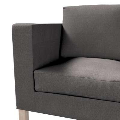 Bezug für Karlanda 2-Sitzer Sofa nicht ausklappbar, kurz von der Kollektion Etna, Stoff: 705-35