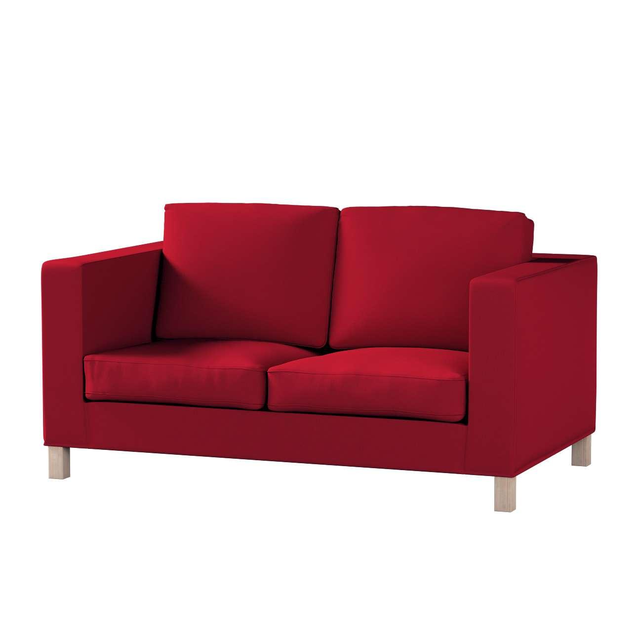 Bezug für Karlanda 2-Sitzer Sofa nicht ausklappbar, kurz von der Kollektion Etna, Stoff: 705-60