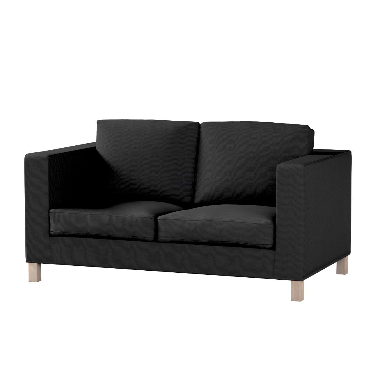 Pokrowiec na sofę Karlanda 2-osobową nierozkładaną, krótki w kolekcji Etna , tkanina: 705-00