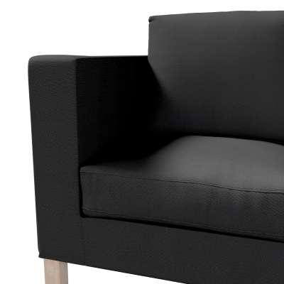 Bezug für Karlanda 2-Sitzer Sofa nicht ausklappbar, kurz von der Kollektion Etna, Stoff: 705-00