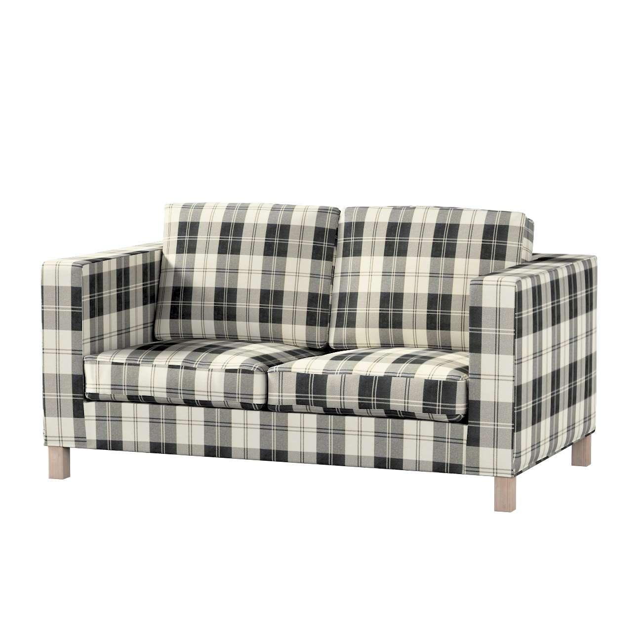 Pokrowiec na sofę Karlanda 2-osobową nierozkładaną, krótki Sofa Karlanda 2-os w kolekcji Edinburgh, tkanina: 115-74