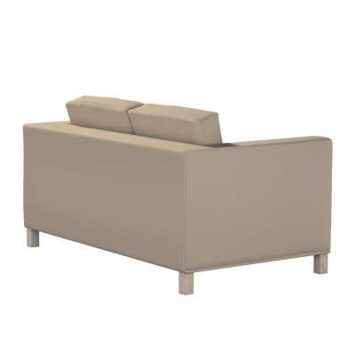 Bezug für Karlanda 2-Sitzer Sofa nicht ausklappbar, kurz von der Kollektion Cotton Panama, Stoff: 702-28