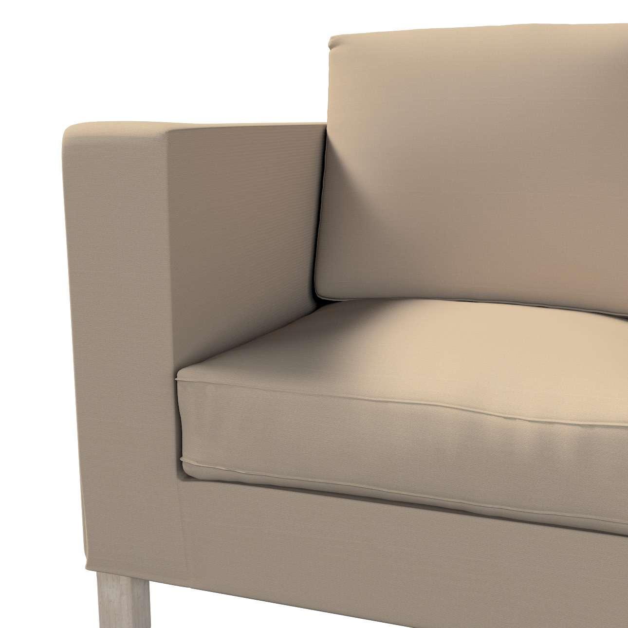 Potah na pohovku IKEA  Karlanda 2-místná, krátký v kolekci Cotton Panama, látka: 702-28