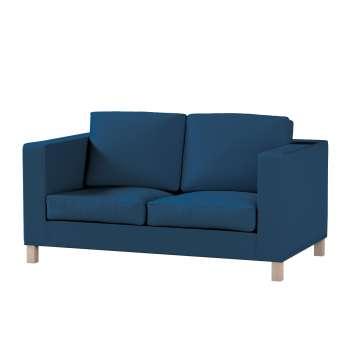 Pokrowiec na sofę Karlanda 2-osobową nierozkładaną, krótki Sofa Karlanda 2-os w kolekcji Cotton Panama, tkanina: 702-30