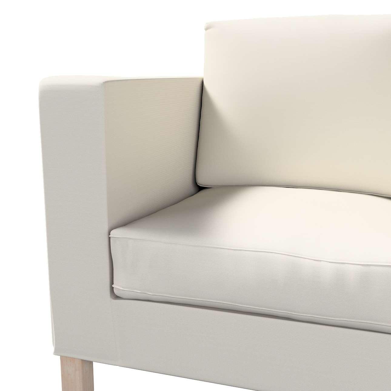 Pokrowiec na sofę Karlanda 2-osobową nierozkładaną, krótki w kolekcji Cotton Panama, tkanina: 702-31