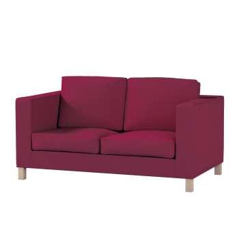 Pokrowiec na sofę Karlanda 2-osobową nierozkładaną, krótki Sofa Karlanda 2-os w kolekcji Cotton Panama, tkanina: 702-32