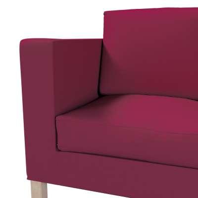 Huzat Karlanda 2-üléses kanapéra, nem kinyitható, rövid a kollekcióból Cotton Panama Bútorszövet, Dekoranyag: 702-32