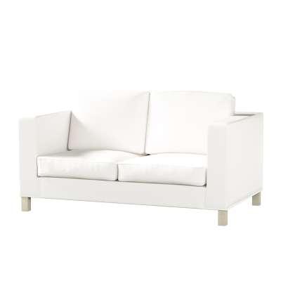 Pokrowiec na sofę Karlanda 2-osobową nierozkładaną, krótki w kolekcji Cotton Panama, tkanina: 702-34