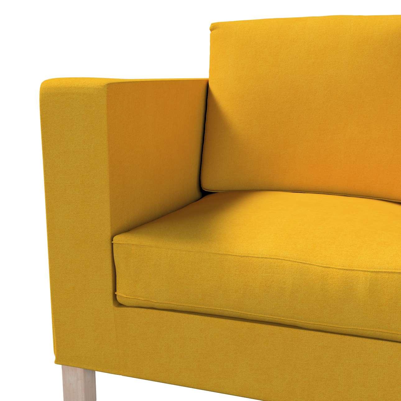 Karlanda 2-Sitzer Sofabezug nicht ausklappbar kurz von der Kollektion Etna, Stoff: 705-04