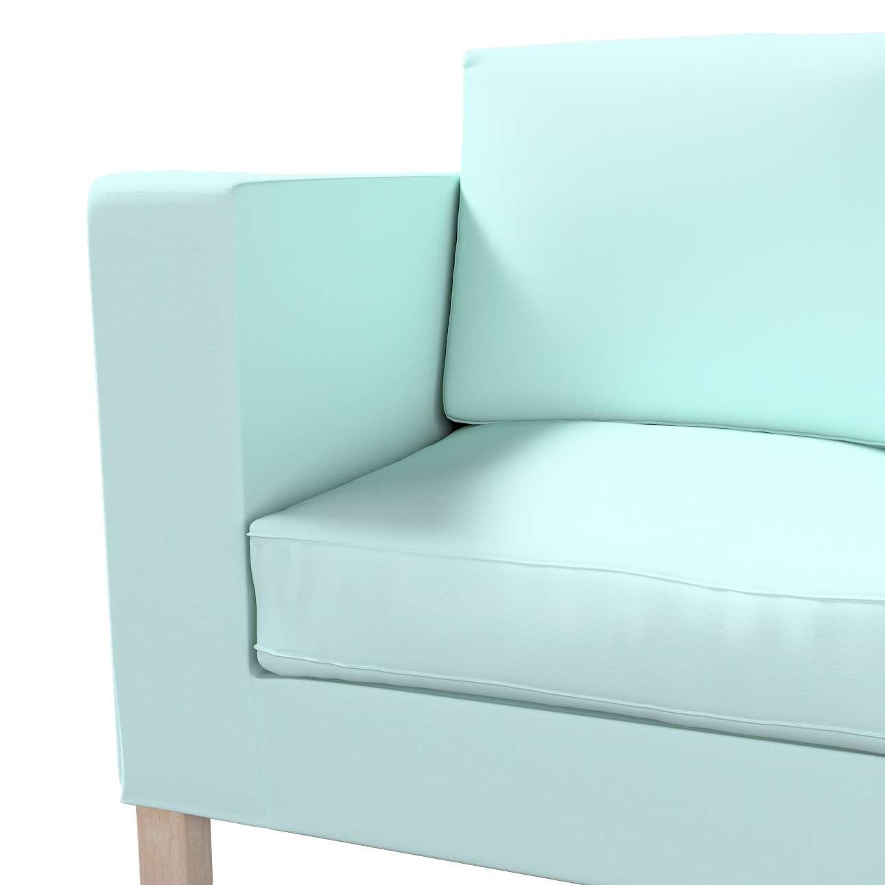 Karlanda klädsel<br>2-sits soffa - kort klädsel i kollektionen Panama Cotton, Tyg: 702-10