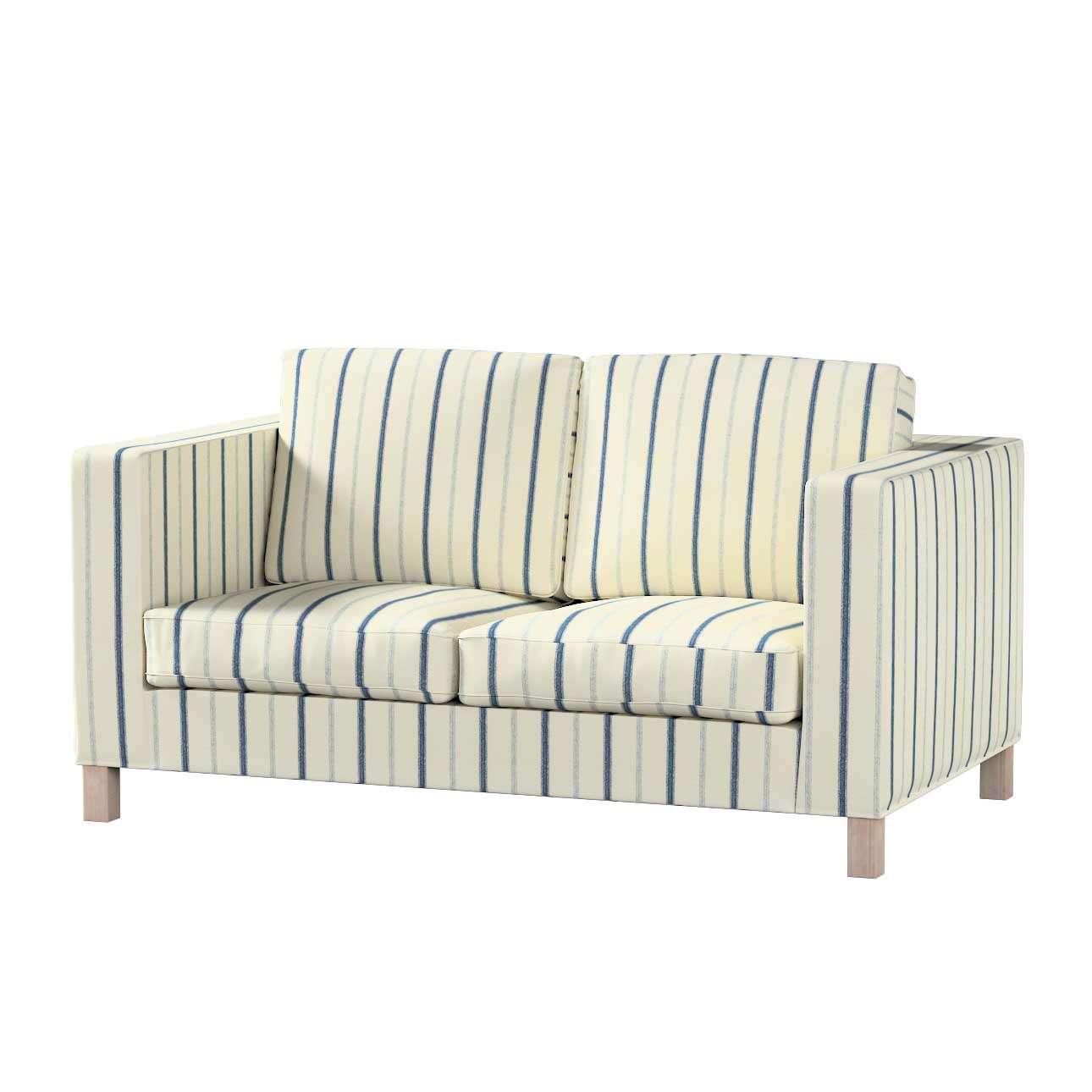 Pokrowiec na sofę Karlanda 2-osobową nierozkładaną, krótki Sofa Karlanda 2-os w kolekcji Avinon, tkanina: 129-66