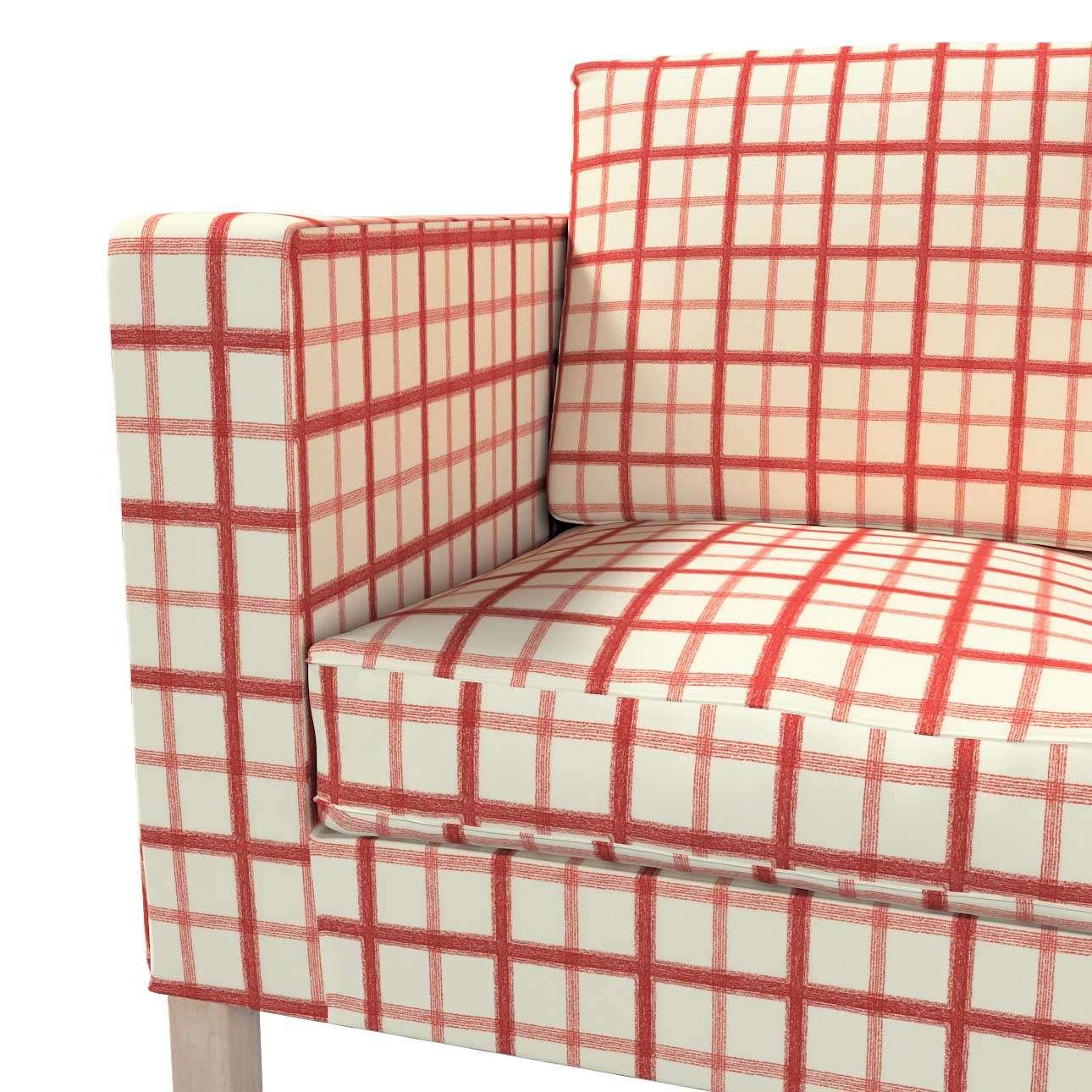 Pokrowiec na sofę Karlanda 2-osobową nierozkładaną, krótki w kolekcji Avinon, tkanina: 131-15