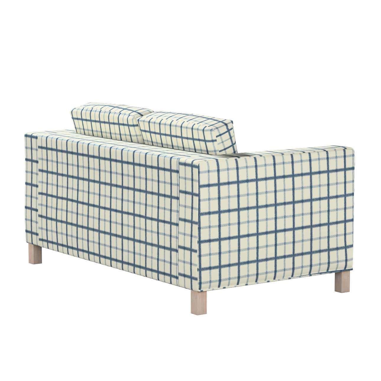Bezug für Karlanda 2-Sitzer Sofa nicht ausklappbar, kurz von der Kollektion Avinon, Stoff: 131-66