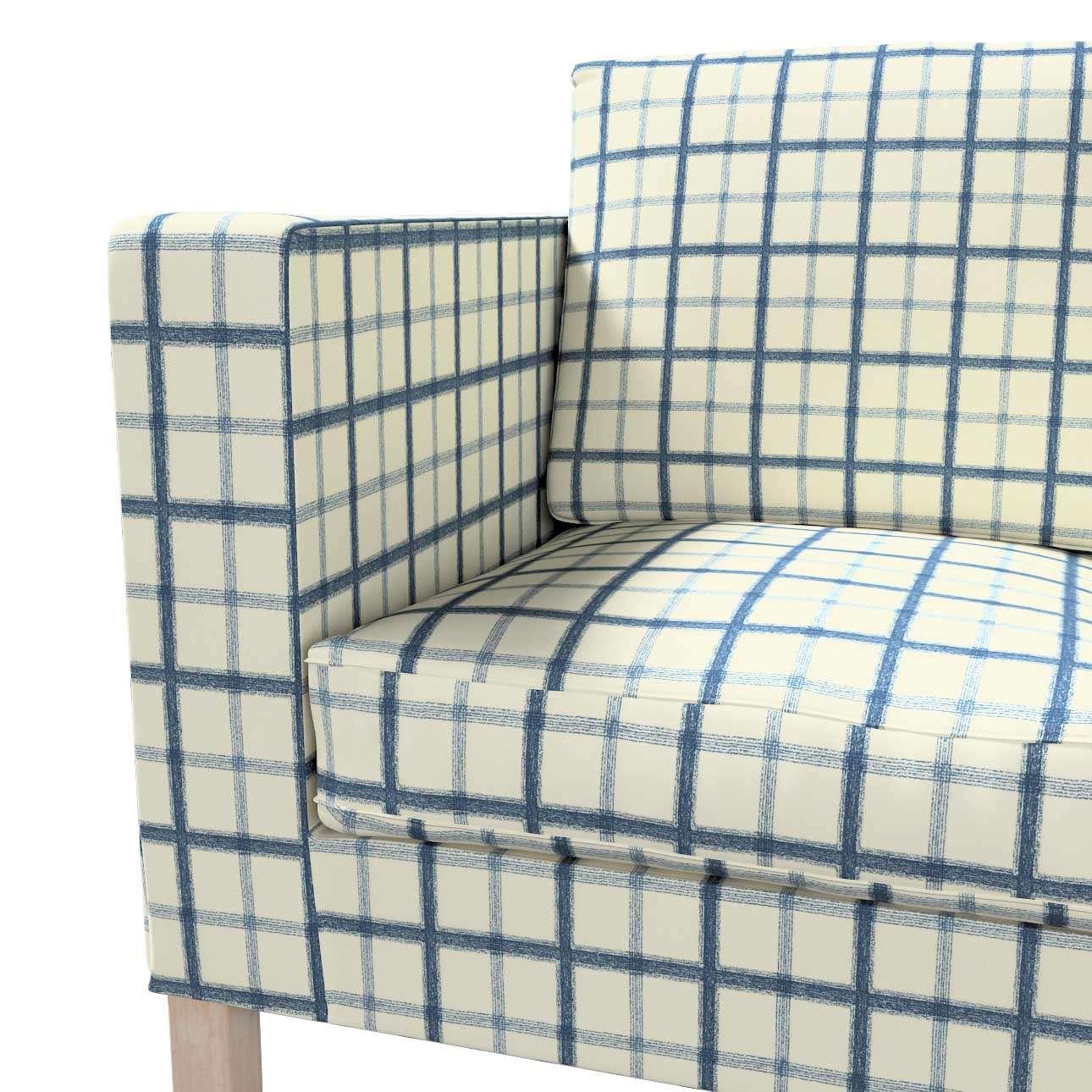 Pokrowiec na sofę Karlanda 2-osobową nierozkładaną, krótki w kolekcji Avinon, tkanina: 131-66