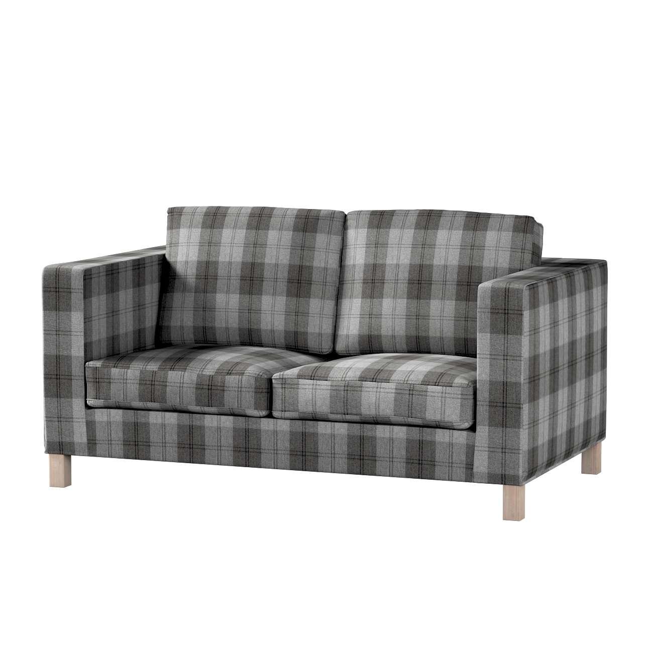 Huzat Karlanda 2-üléses kanapéra, nem kinyitható, rövid a kollekcióból Edinburgh Bútorszövet, Dekoranyag: 115-75