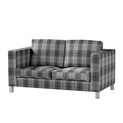 Karlanda 2-Sitzer Sofabezug nicht ausklappbar kurz von der Kollektion Edinburgh , Stoff: 115-75