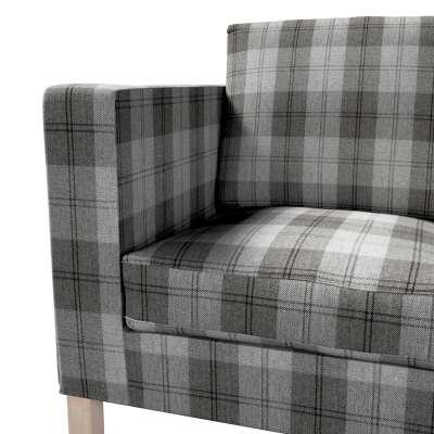 Pokrowiec na sofę Karlanda 2-osobową nierozkładaną, krótki w kolekcji Edinburgh, tkanina: 115-75