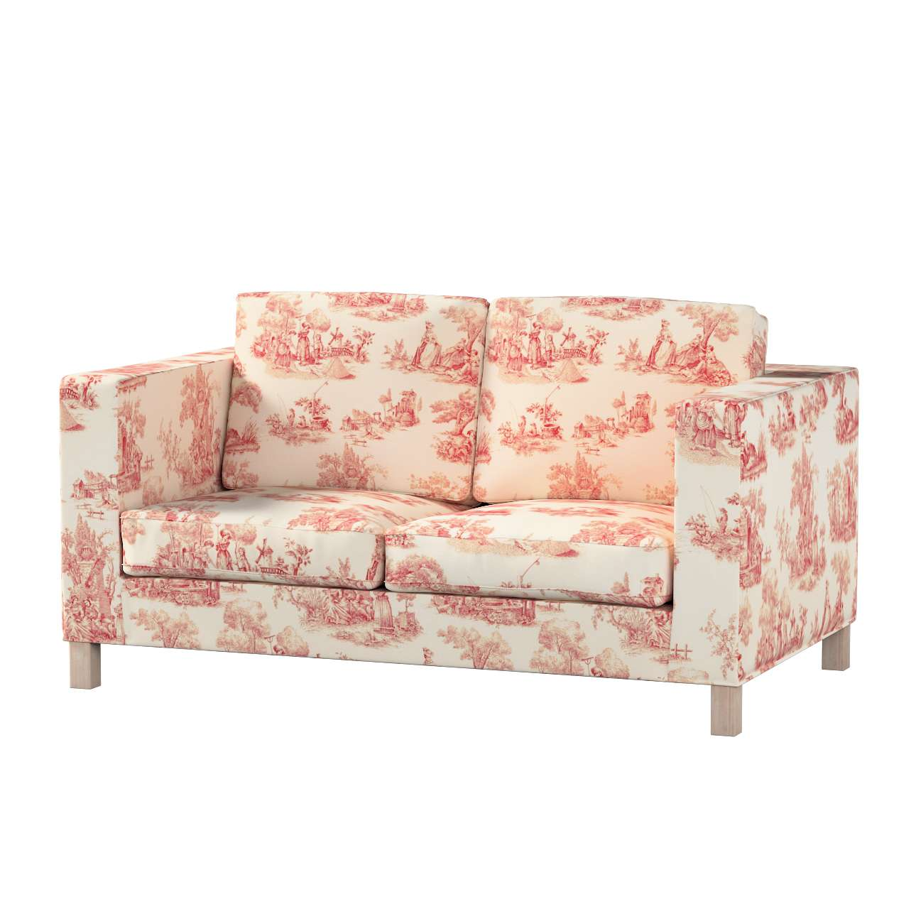 Huzat Karlanda 2-üléses kanapéra, nem kinyitható, rövid a kollekcióból Avinon Lakástextil, Dekoranyag: 132-15