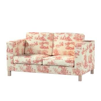 Pokrowiec na sofę Karlanda 2-osobową nierozkładaną, krótki Sofa Karlanda 2-os w kolekcji Avinon, tkanina: 132-15