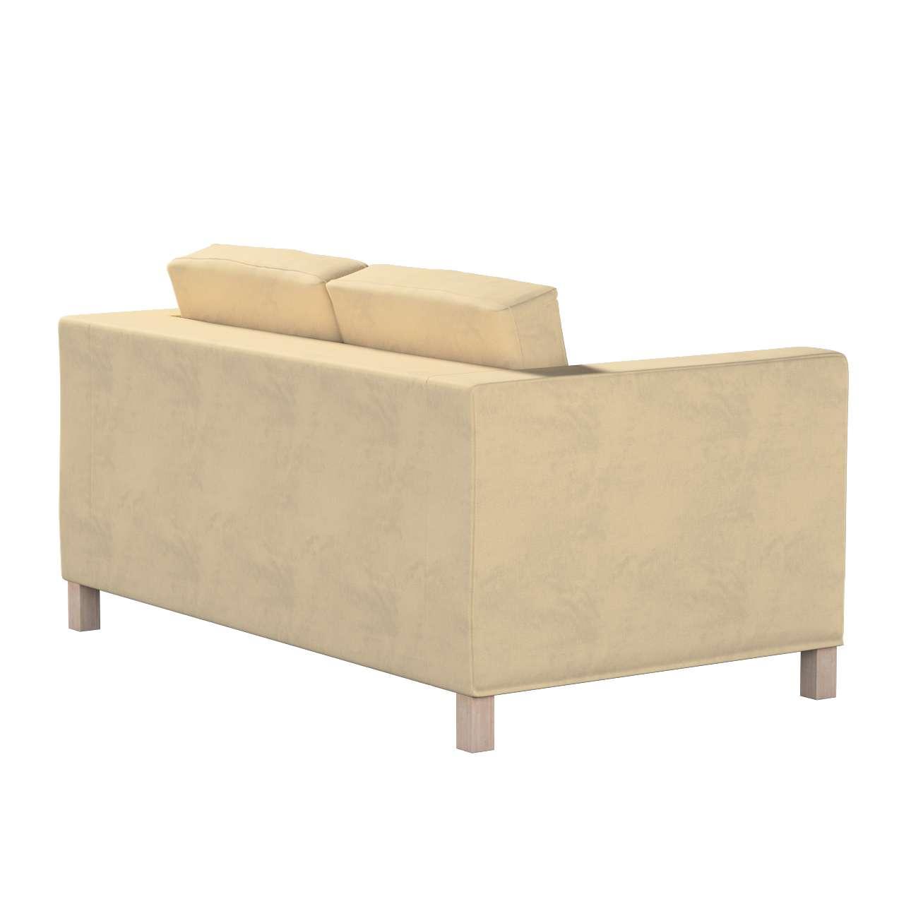 Karlanda 2-Sitzer Sofabezug nicht ausklappbar kurz von der Kollektion Living, Stoff: 160-82