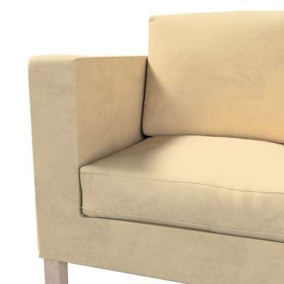 Pokrowiec na sofę Karlanda 2-osobową nierozkładaną, krótki w kolekcji Living II, tkanina: 160-82