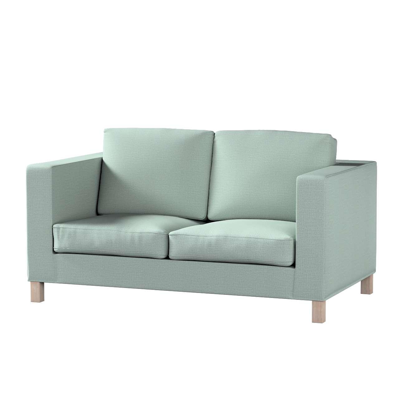 Pokrowiec na sofę Karlanda 2-osobową nierozkładaną, krótki w kolekcji Living II, tkanina: 160-86