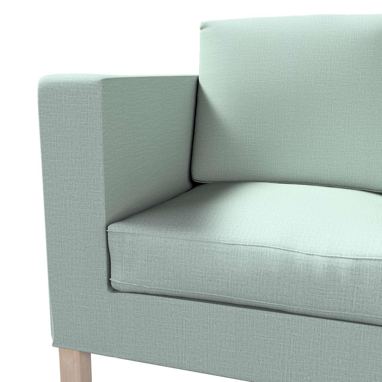 Bezug für Karlanda 2-Sitzer Sofa nicht ausklappbar, kurz von der Kollektion Living II, Stoff: 160-86