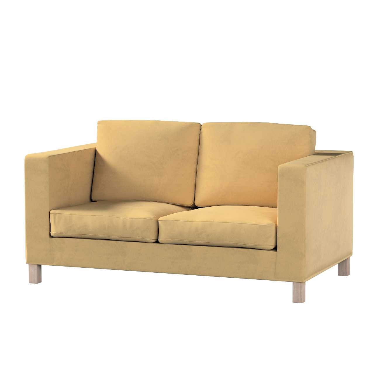 Bezug für Karlanda 2-Sitzer Sofa nicht ausklappbar, kurz von der Kollektion Living II, Stoff: 160-93