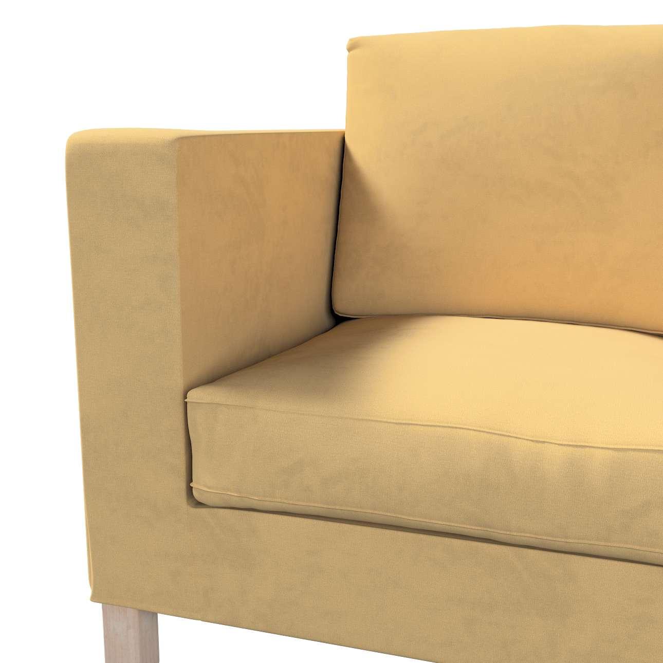 Pokrowiec na sofę Karlanda 2-osobową nierozkładaną, krótki w kolekcji Living II, tkanina: 160-93