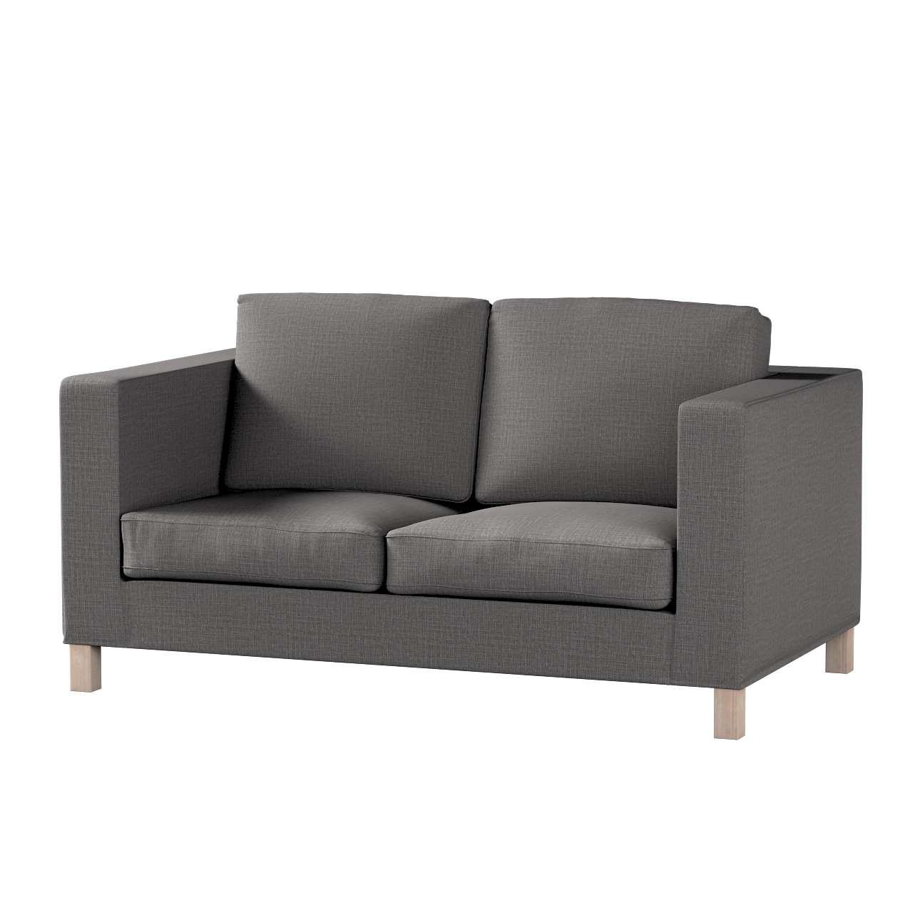 Pokrowiec na sofę Karlanda 2-osobową nierozkładaną, krótki w kolekcji Living, tkanina: 161-16