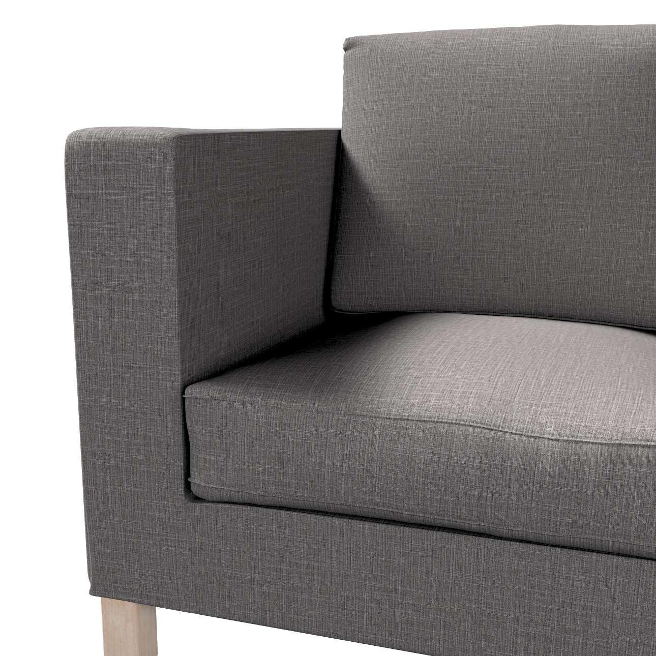 Bezug für Karlanda 2-Sitzer Sofa nicht ausklappbar, kurz von der Kollektion Living II, Stoff: 161-16