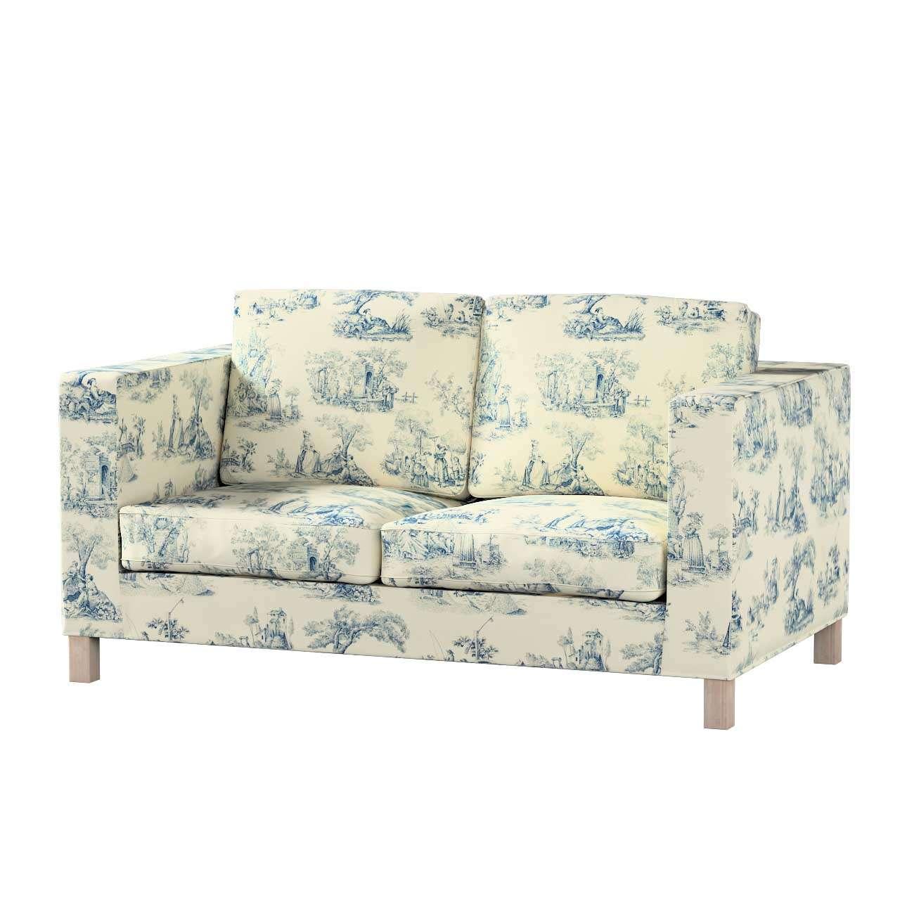Huzat Karlanda 2-üléses kanapéra, nem kinyitható, rövid a kollekcióból Avinon Lakástextil, Dekoranyag: 132-66